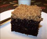 Chocolate Graham Streusel Cake