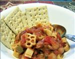 Vegetarian Chili With Pasta