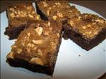 Double Peanut Brownies
