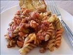 Rotini With Quick Meat Sauce