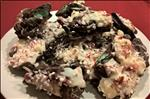 Cookie and Candy Cane Chocolate Bark