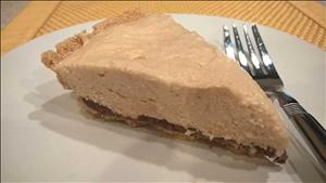 Chocolate Peanut Butter Mousse Pie