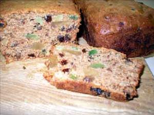 Festive Fruitcake Loaves