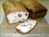 White Chocolate Cranberry Loaves